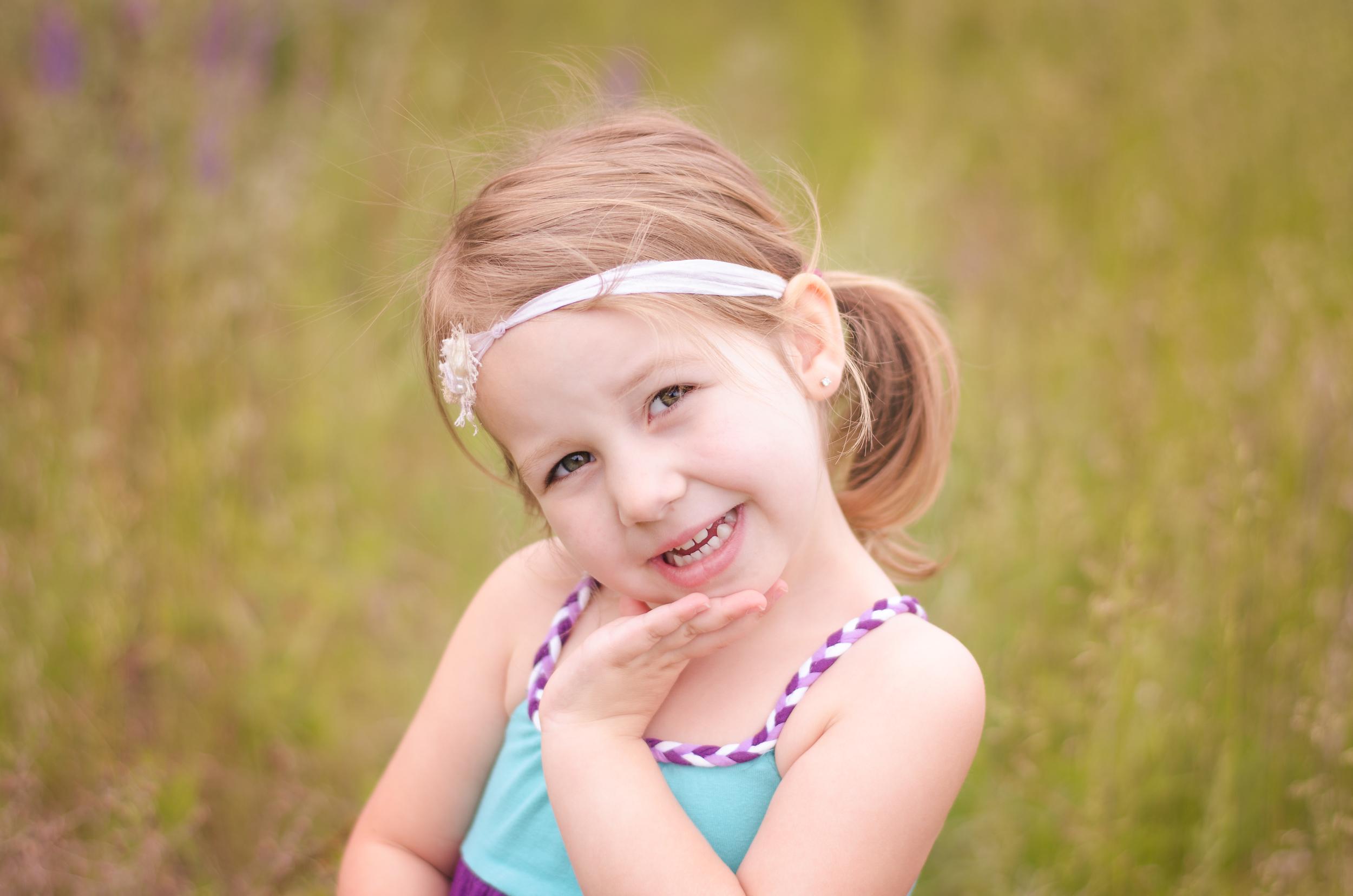 child photographer in the Okanagan