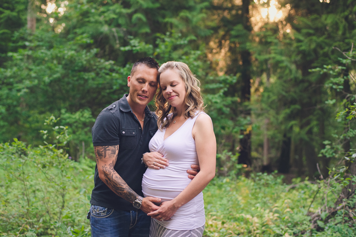 Maternity portrait in Kelowna
