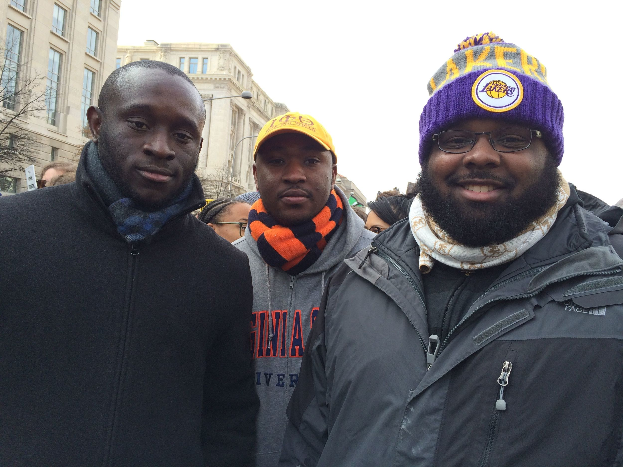 Chris, Steven, & David at #Justice4All