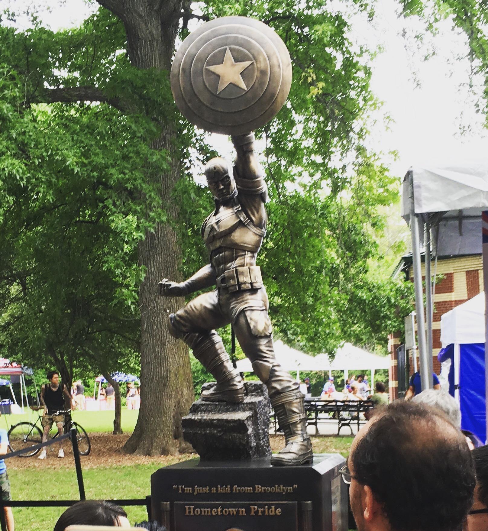 Captain America, Prospect Park, Brooklyn, NY