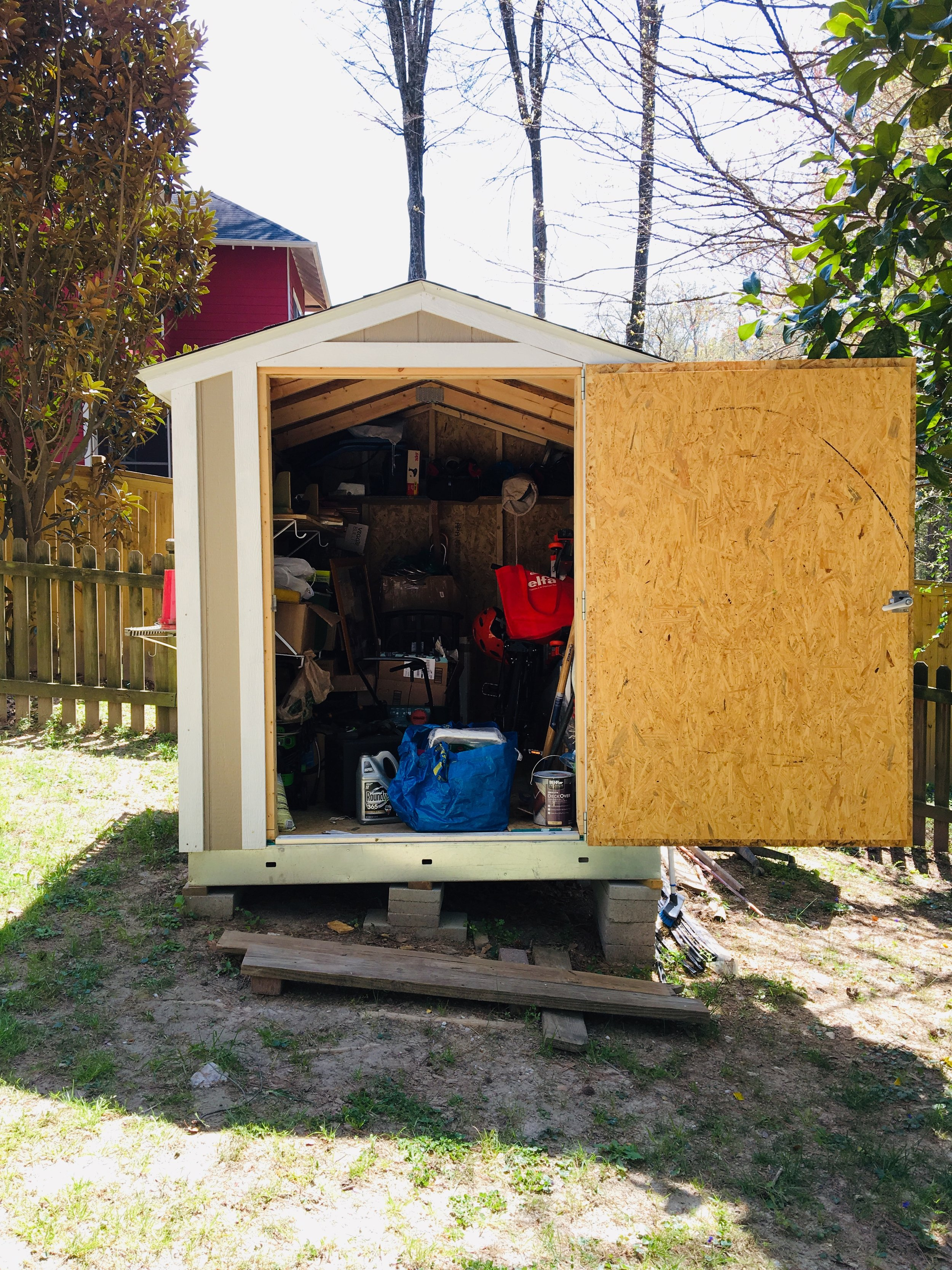 [ everyday ] project : big bell's backyard shed -
