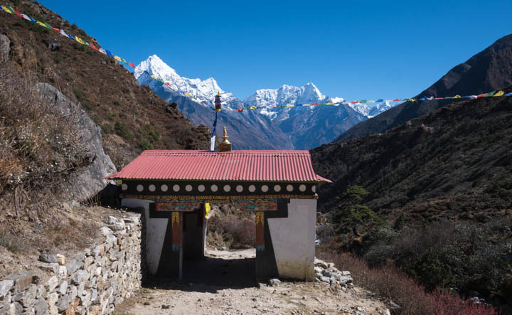 A few hours from Namche