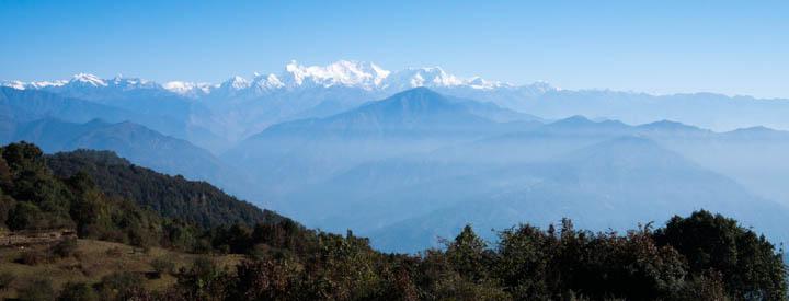 Kanchenjunga growing closer