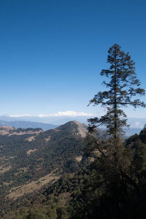 Kanchenjunga in distance