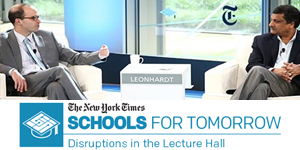 Sept. 8-9, 2014:   The New York Times fourth annual  Schools for Tomorrow Conference  will be devoted to how innovations and challenges — social, economic, political and technological — are calling into question the very nature of higher education.  Join today .  Womensphere is thrilled to be a Media Sponsor of this event.