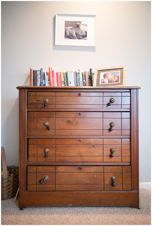 This dresser was Helen's Dad's.