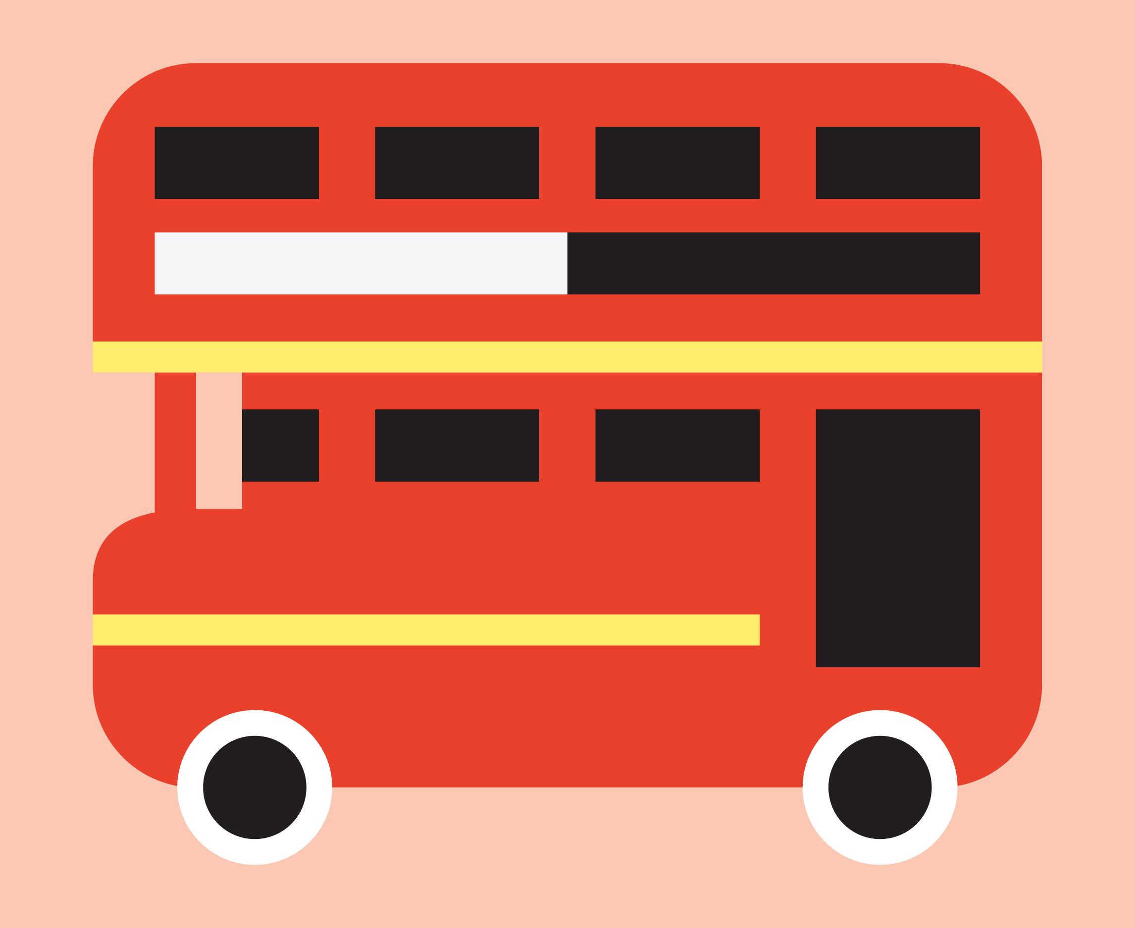 double decker bus -