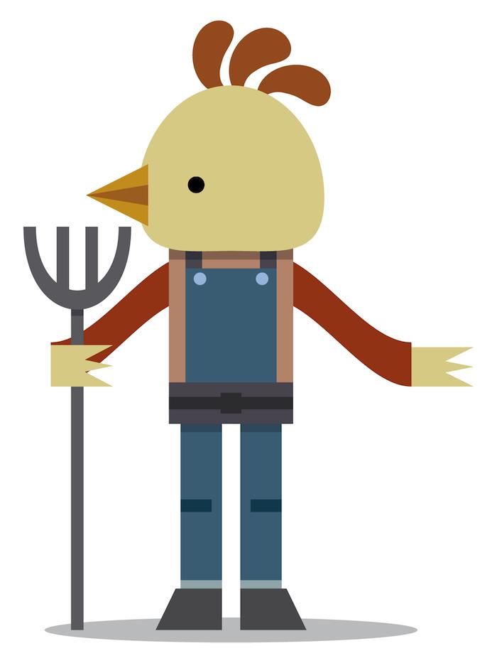 chicken farmer -