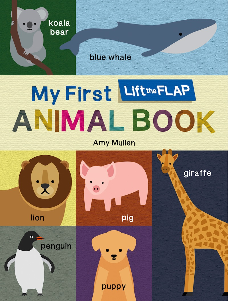 My First Lift-the-Flap Animal Book - duopress