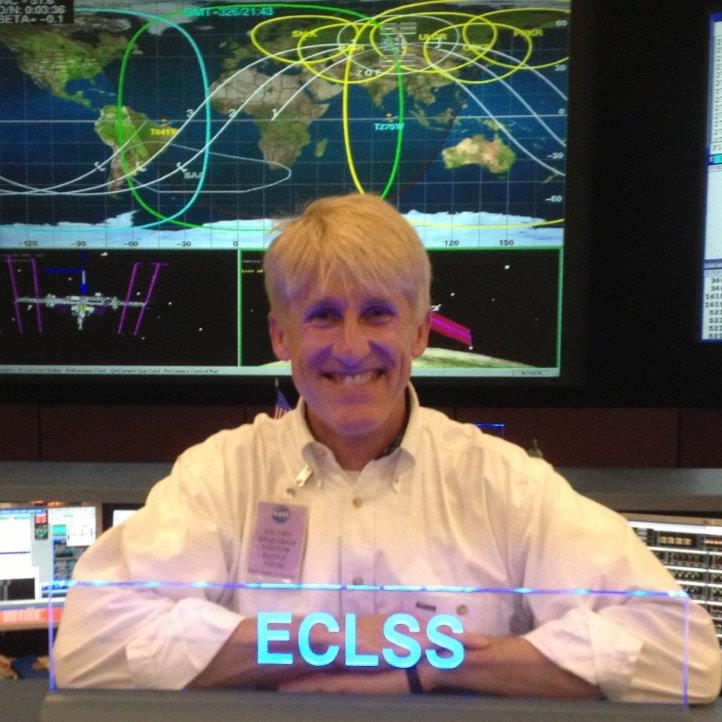 "NASA ceremony retiring the ""ECLSS"" call sign for the International Space Station.."