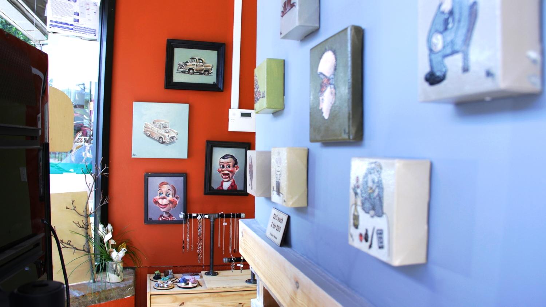 Handmade crafts art Chicago Edgewater Workbench