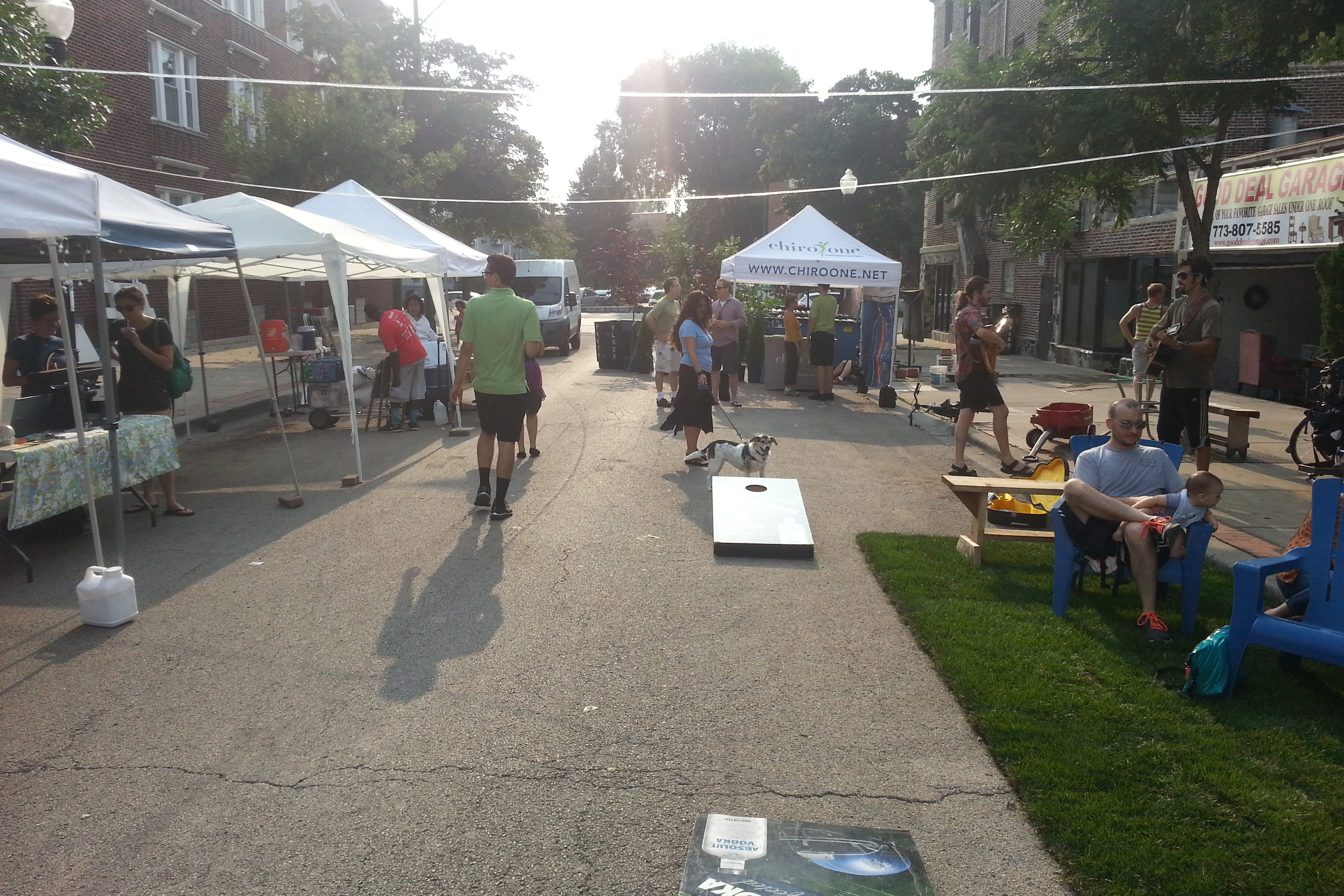 Eco-Andersonville's Olive in Motion Pop-Up Park and Market