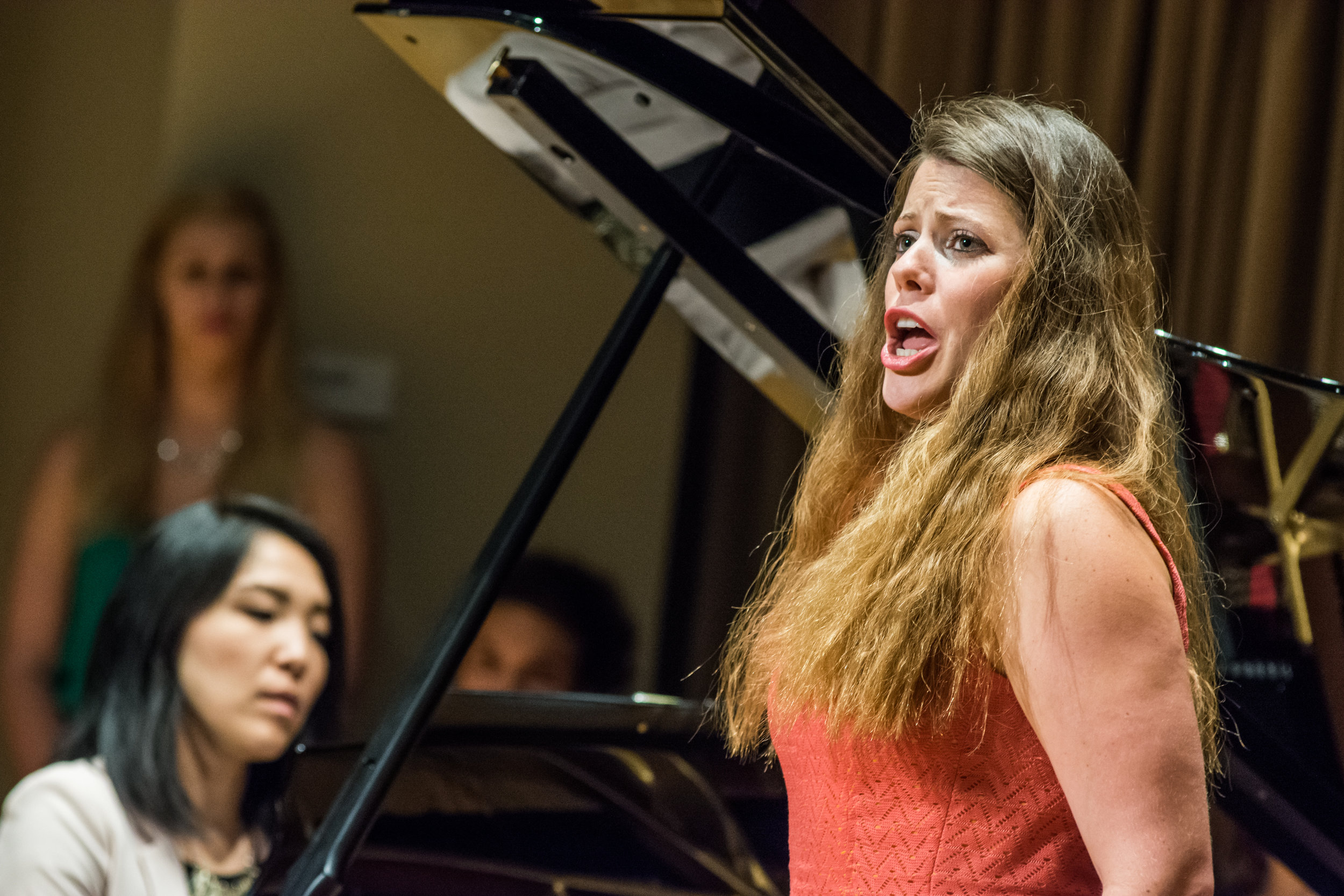 2016 Professional Fellows pianist Erika Tazawa and soprano Kristina Bachrach