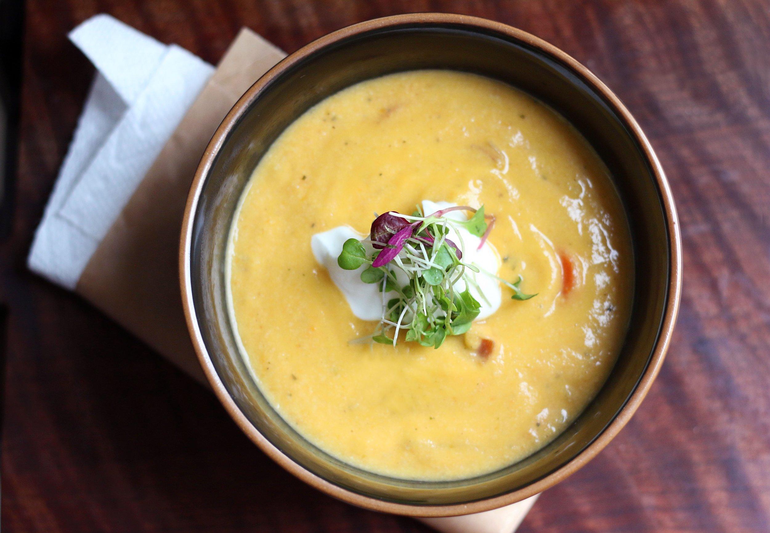 Purposeful Plate | Winter Vegetable Soup