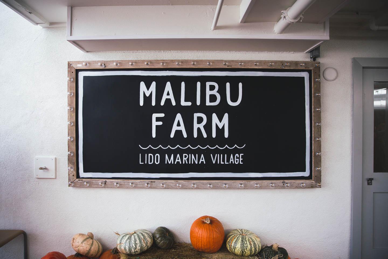 Malibu Farm, Lido Island, Newport Beach