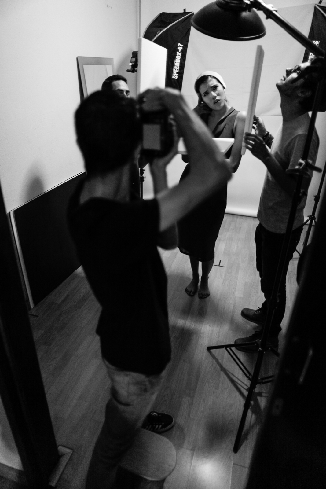 PacoNavarro en su sesión con Ana. PacoNavarro shooting Ana