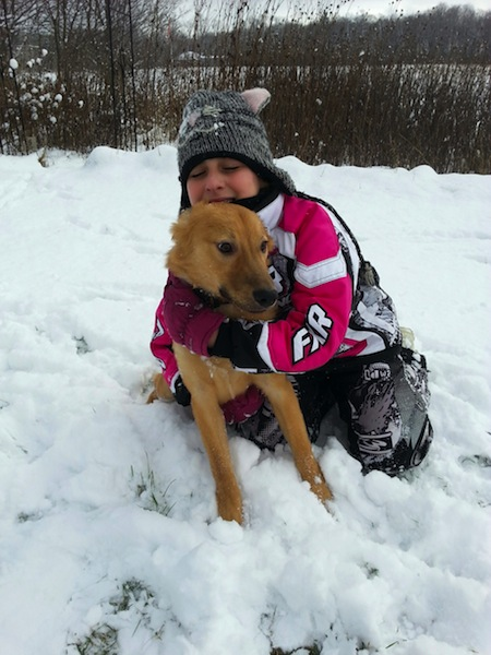 """Boris, Ontario """"Thank you for letting me host such a wonderful, kind, curious, mischievous energetic ball of fur.. He has completed our family in so many ways and always puts a smile on our faces."""""""