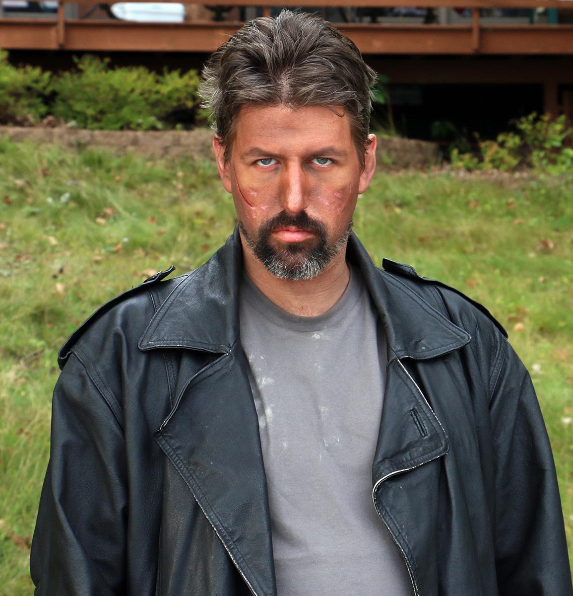 C.J. DeVaan as Bruce in Lake Runs Red