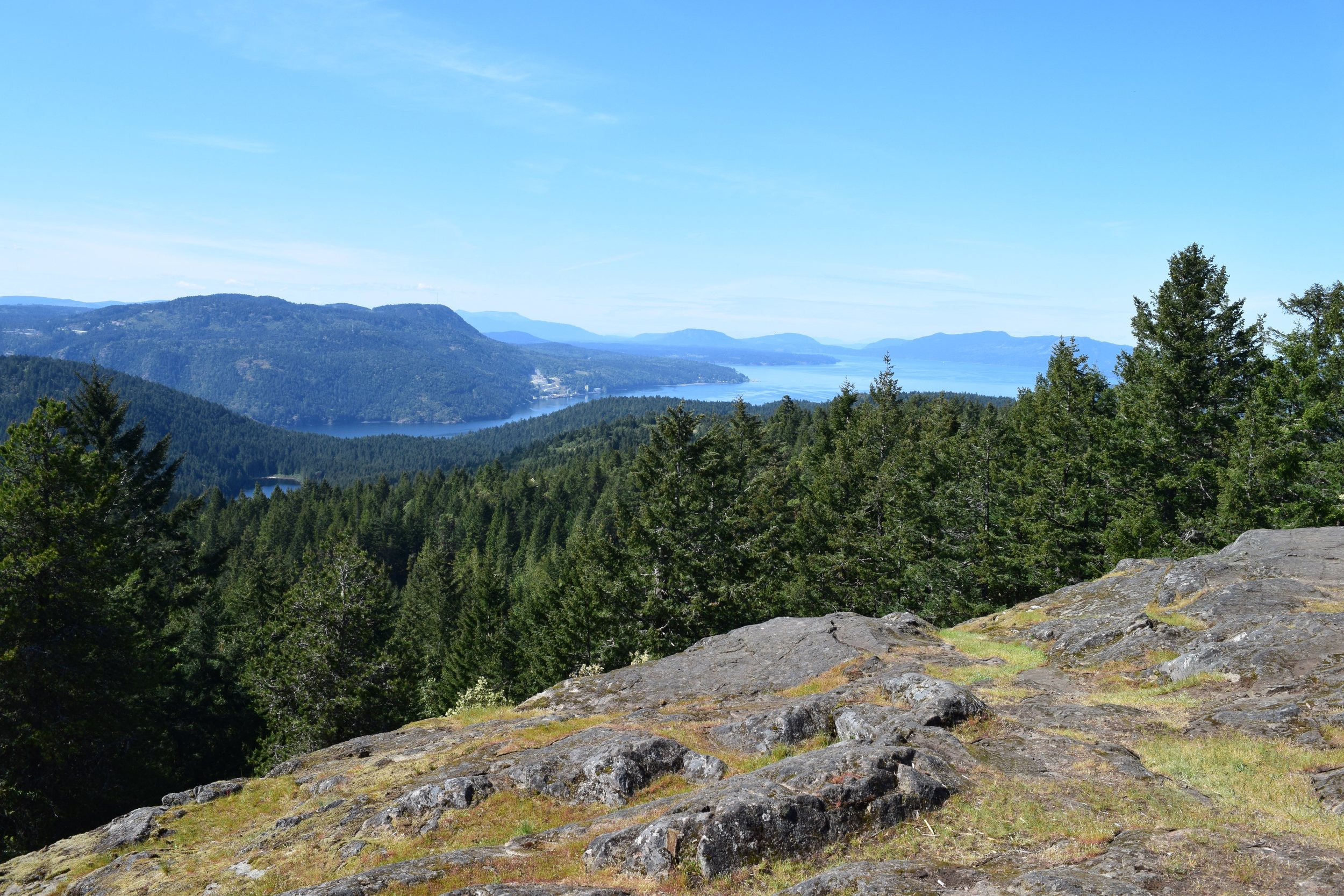 View of Vancouver Island