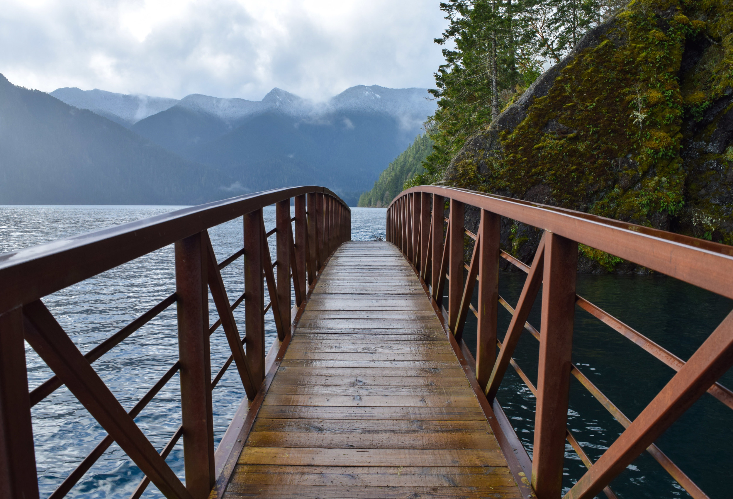 Custom Tour: Spruce Railroad Trail along Lake Crescent