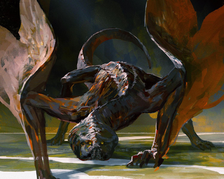 Lanky Dragon