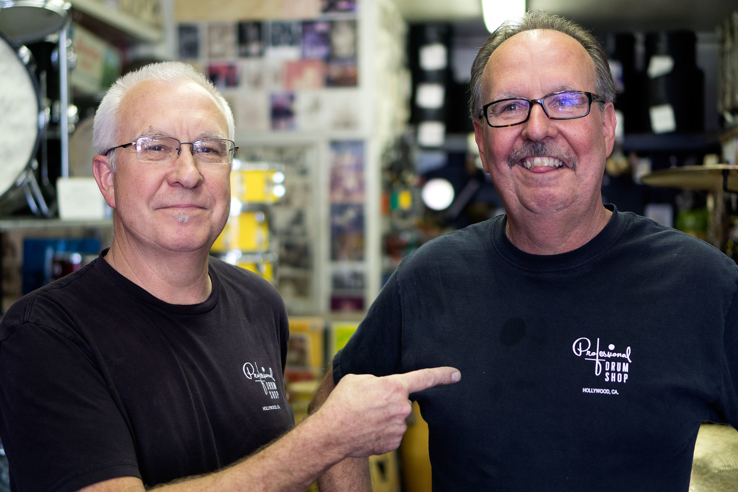 L-R Stan and Jerry Keyawa