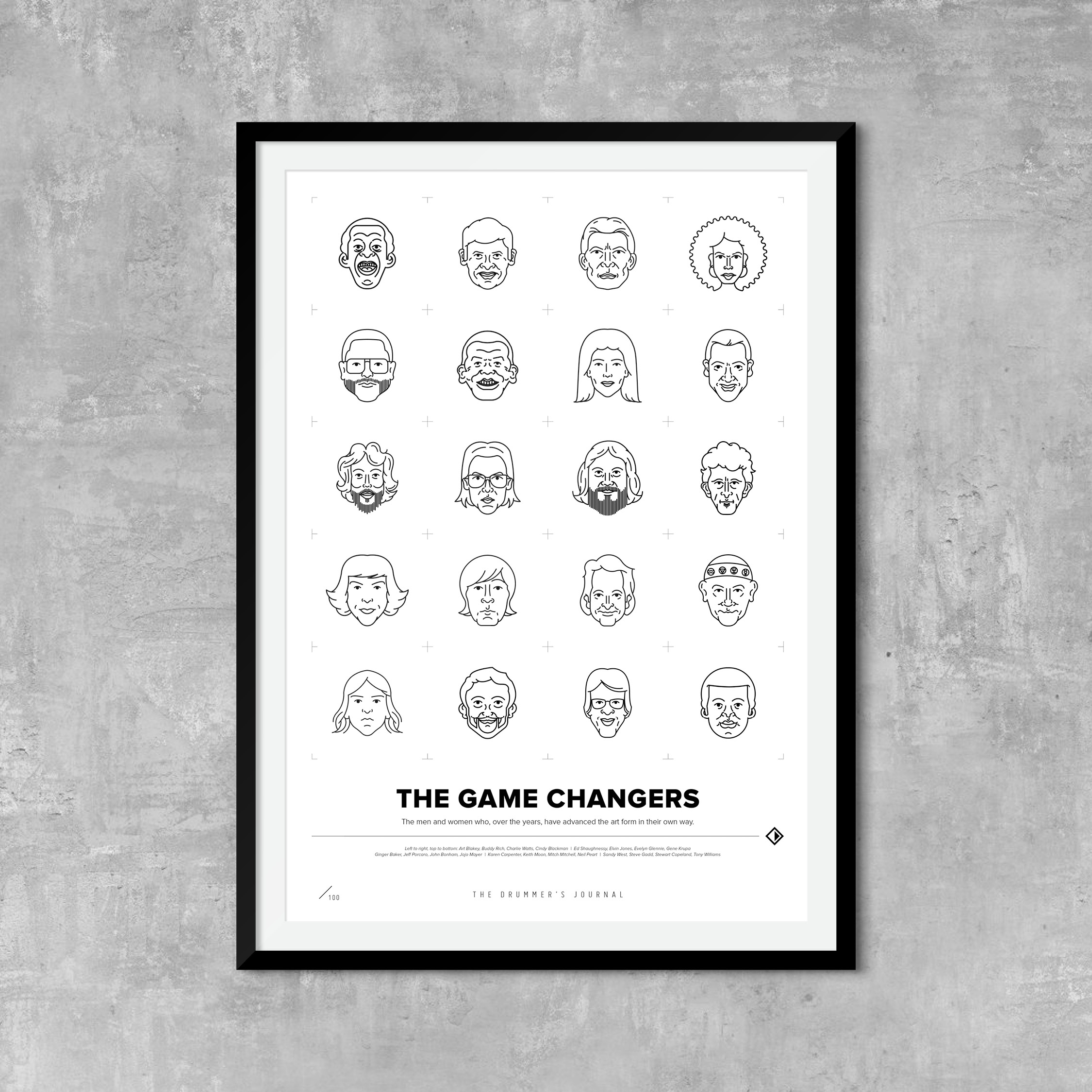 The Game Changers Print / £20