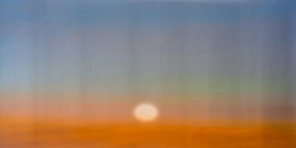 Witness  2017  Pigment Ink Print  160 x 70cm  Edition of: 5  Digital pinhole photograph, silent site responsive video projection