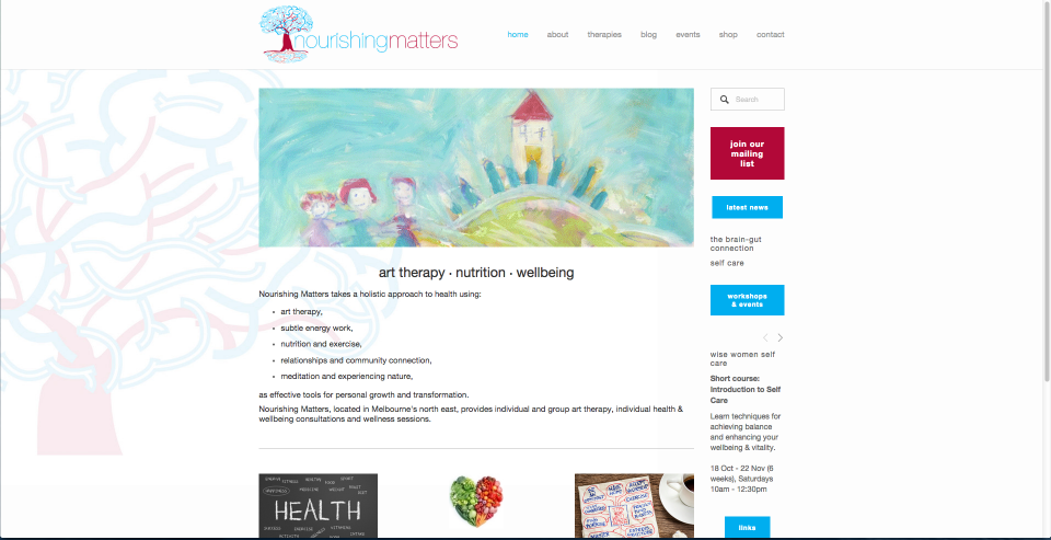 Nourishing Matters