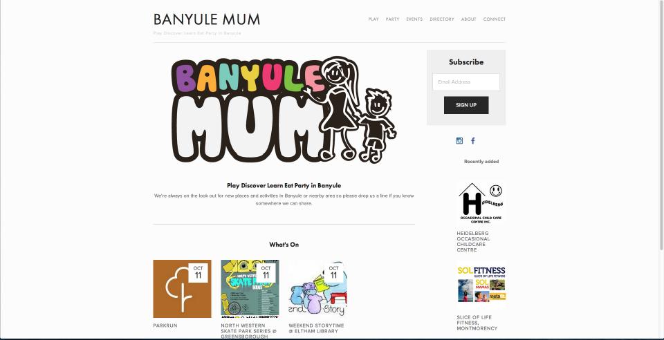 Banyule Mum