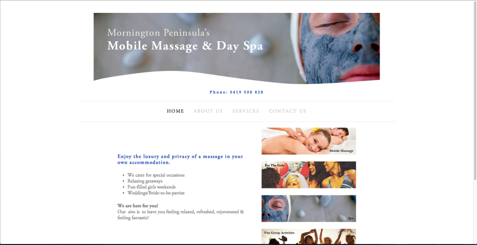 Mornington Peninsula Mobile Massage and Day Spa