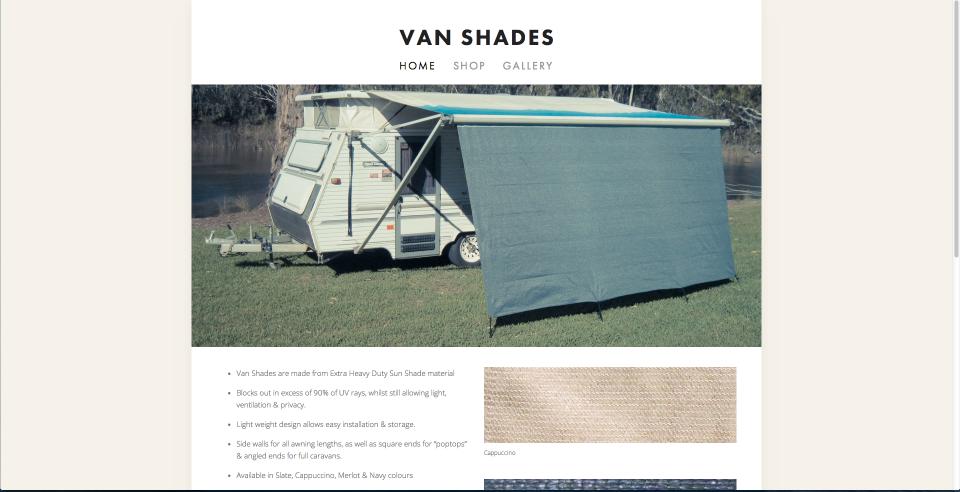 Van Shades
