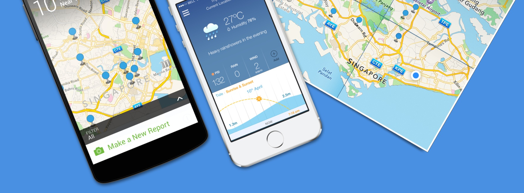 The weather app that Nav worked on