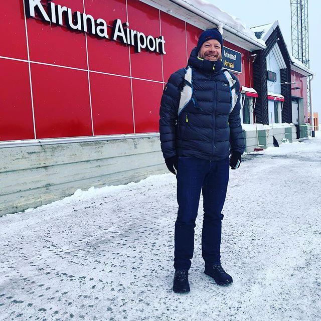 Let the adventure begin. Artic trip with @austinjarrett5006