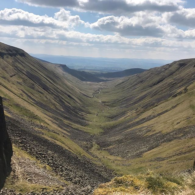 One of the amazing views from this weekends bimble on sections of the Pennine Way and C2C routes.