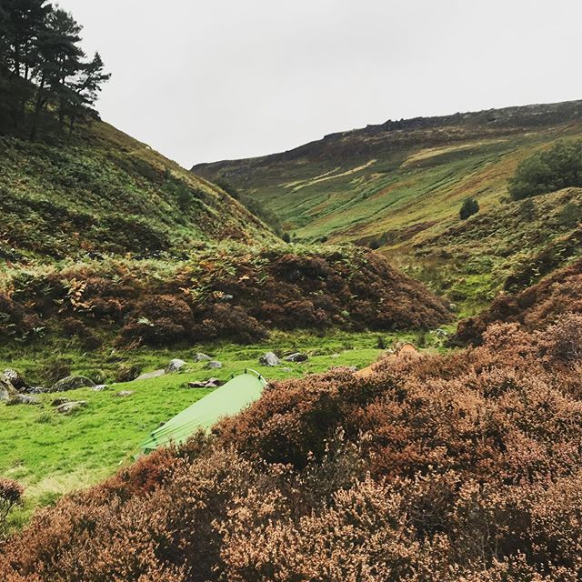 Wild camp, then a bimble around the Edale Skyline Route.