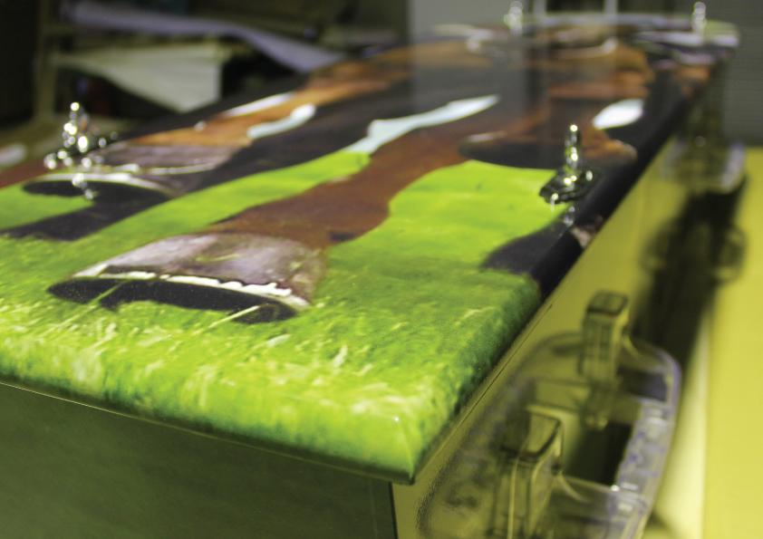 coffin wrap
