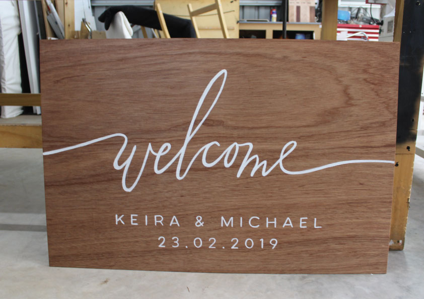 wedding signs dubbo