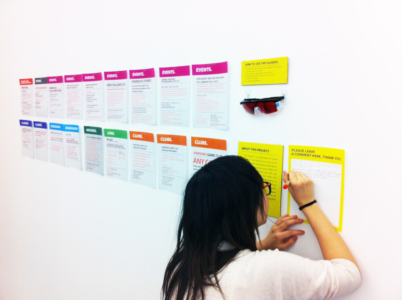 User testing 2 : Getting feedback from users.