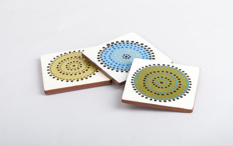 Seedhead Coasters