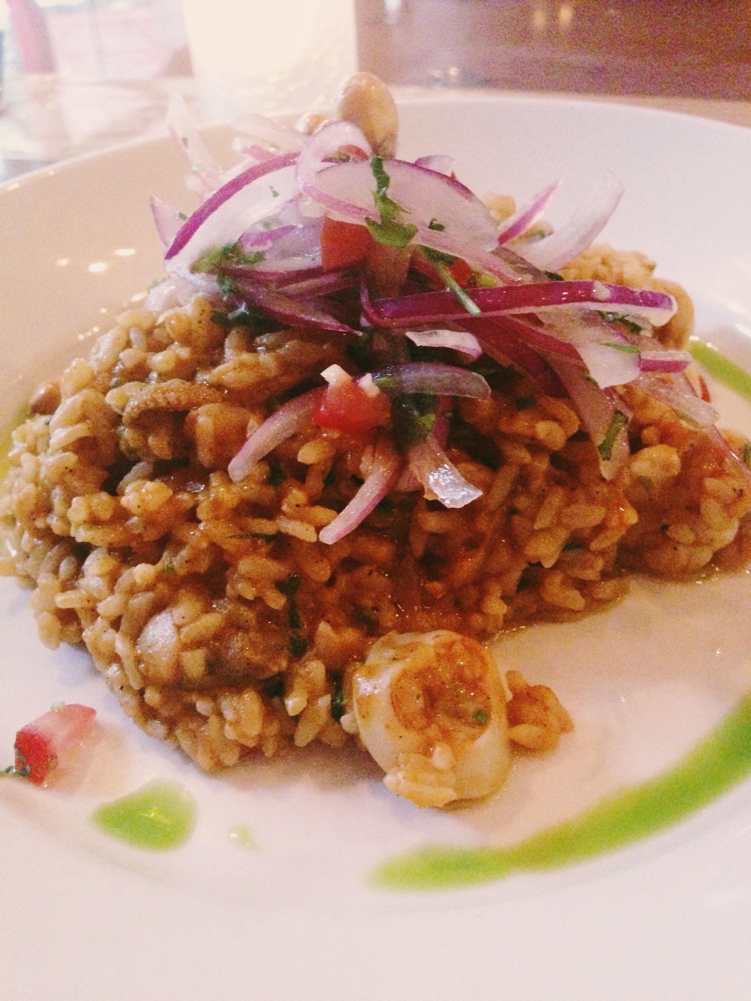 Seafood Rice/Arroz con Mariscos, Mo-Chica Restaurant