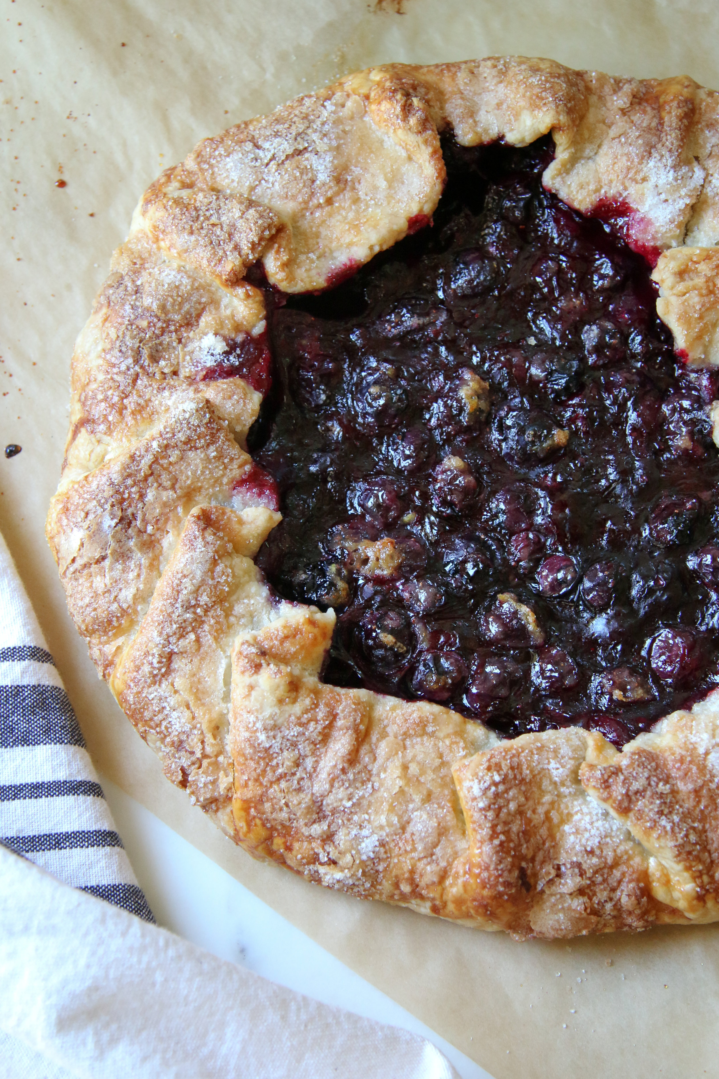 If you want another recipe for that pastry crust try my Summer Blueberry Galette here. -