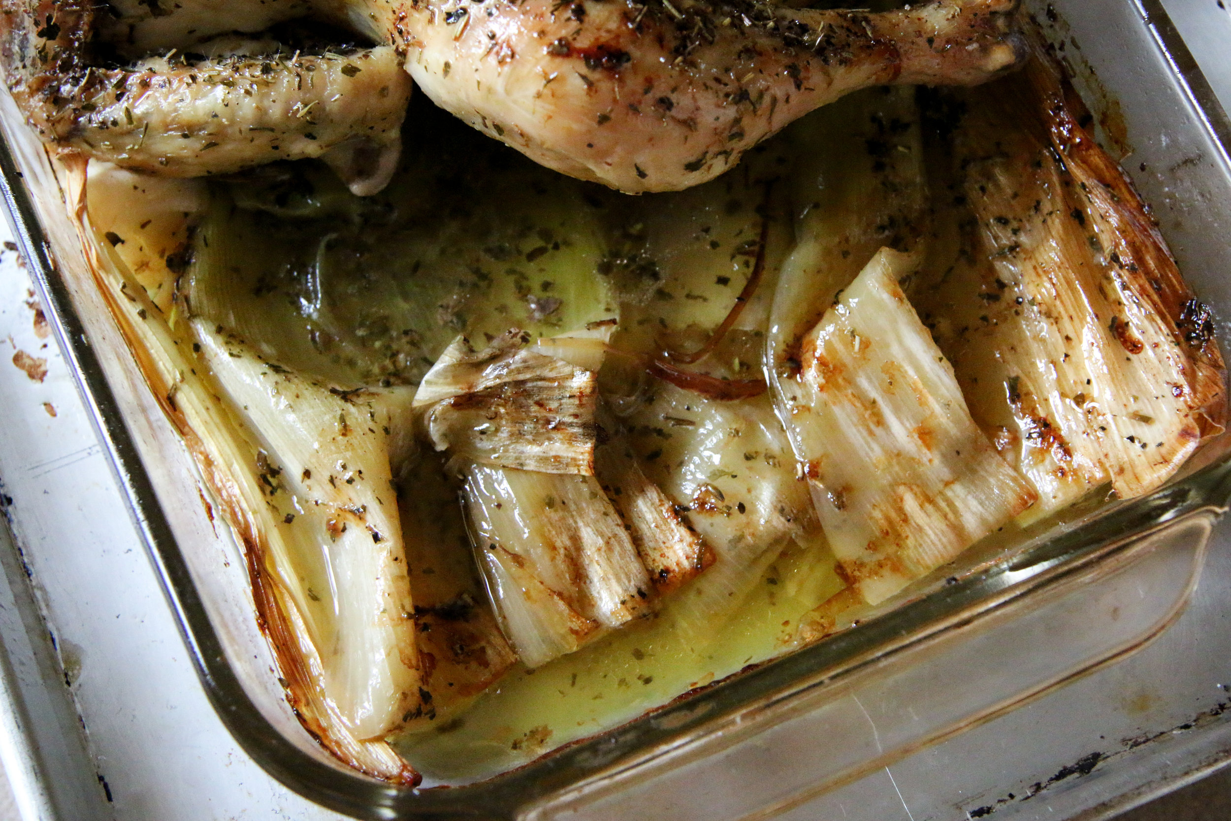 one dish baked chicken and leeks.jpg