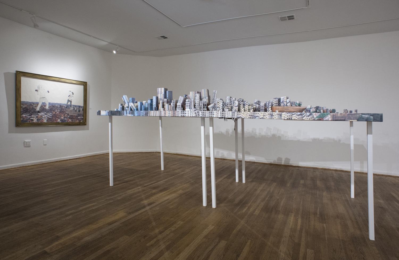 Apocaloptimist: A Future True Story, view of whole sculpture