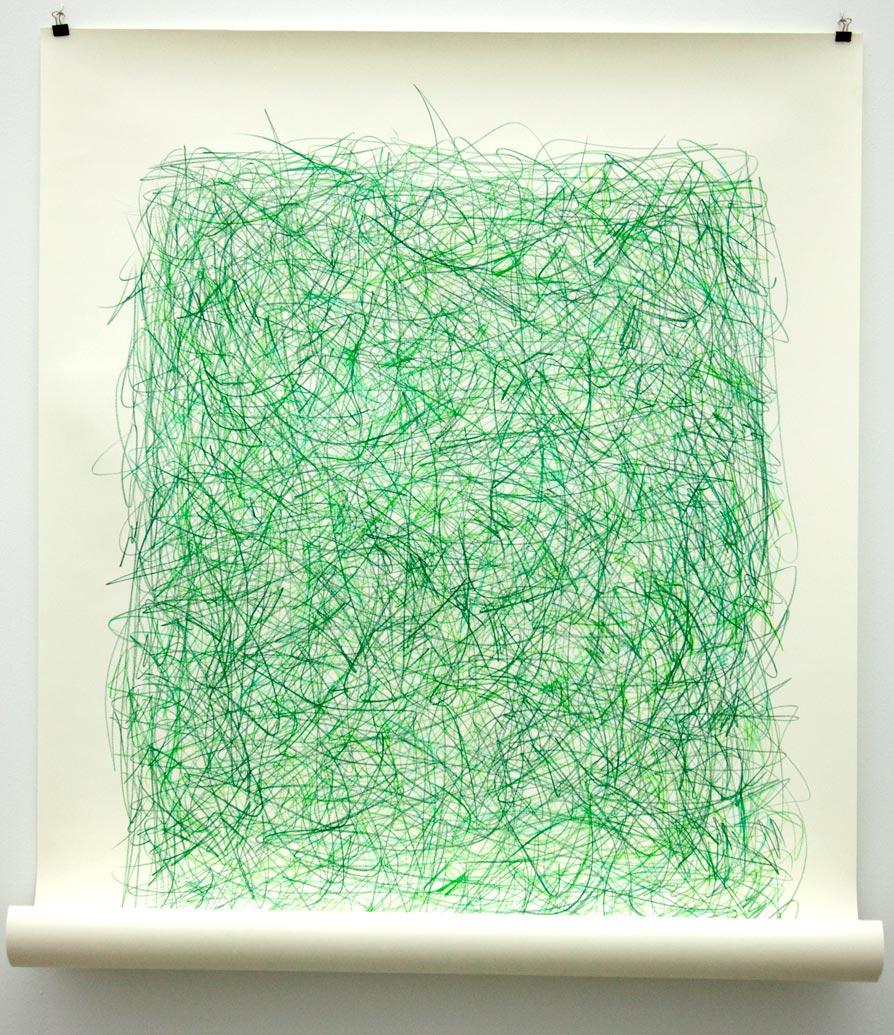 Green Scribble 2010
