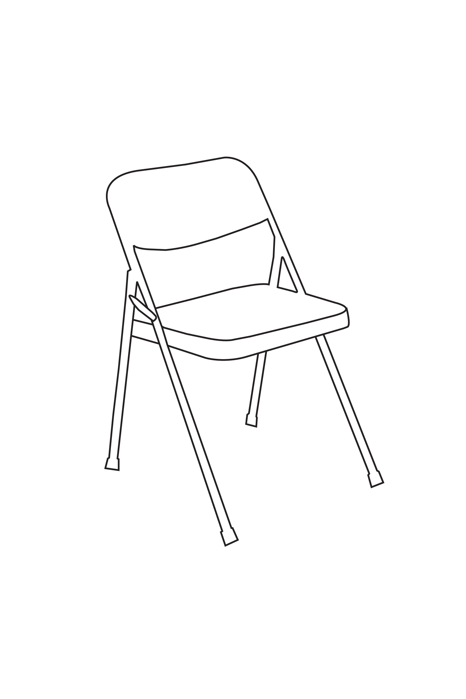 Untitled (folding chair) 2013