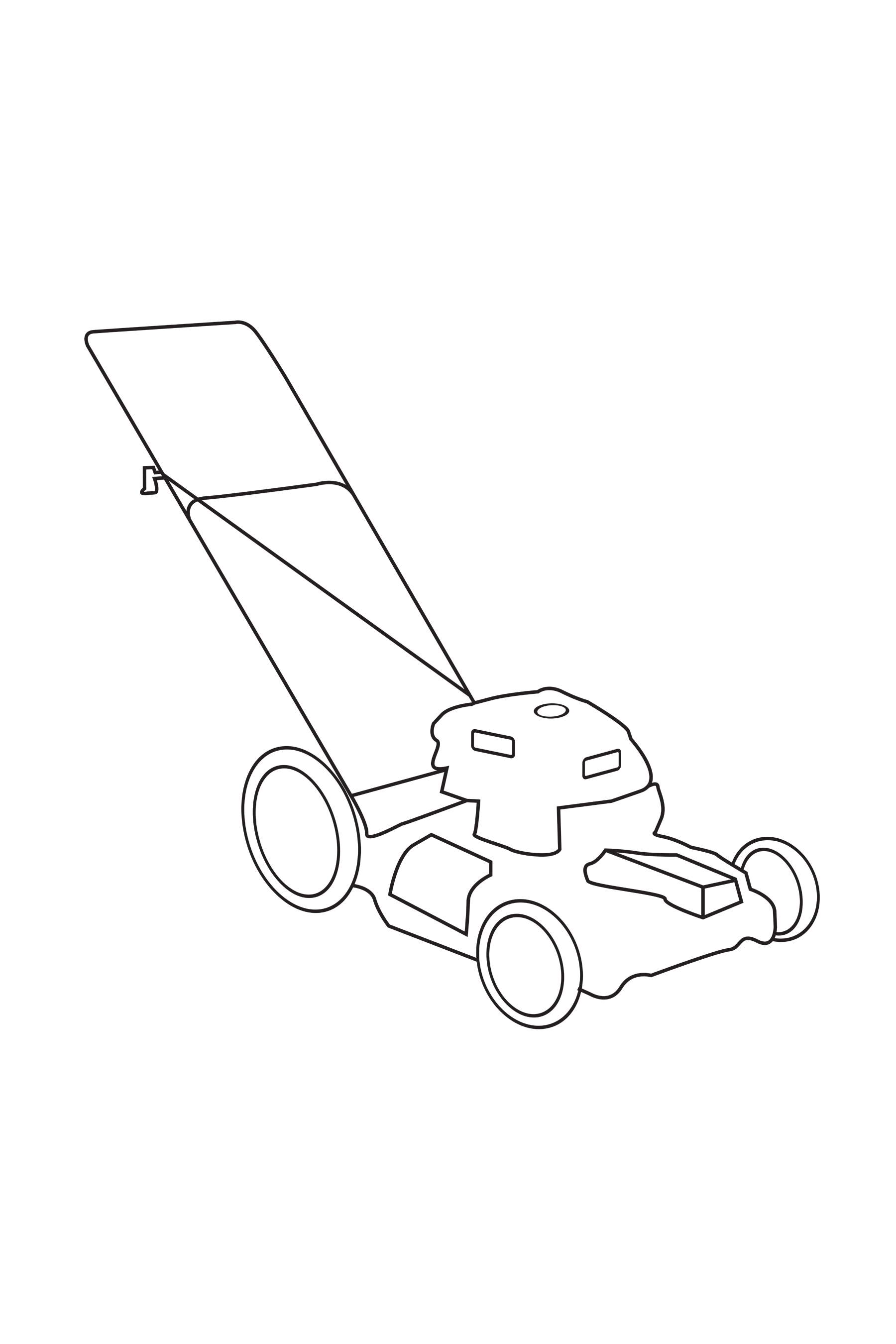 Untitled (mower) 2013
