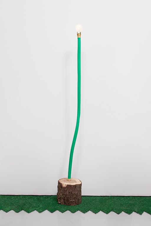 JC16--Hose-Log-Lamp-3_Garden-hose,-copper-tubing,-live-oak,-lightbulb_49-x-6-x-7-inches.jpg