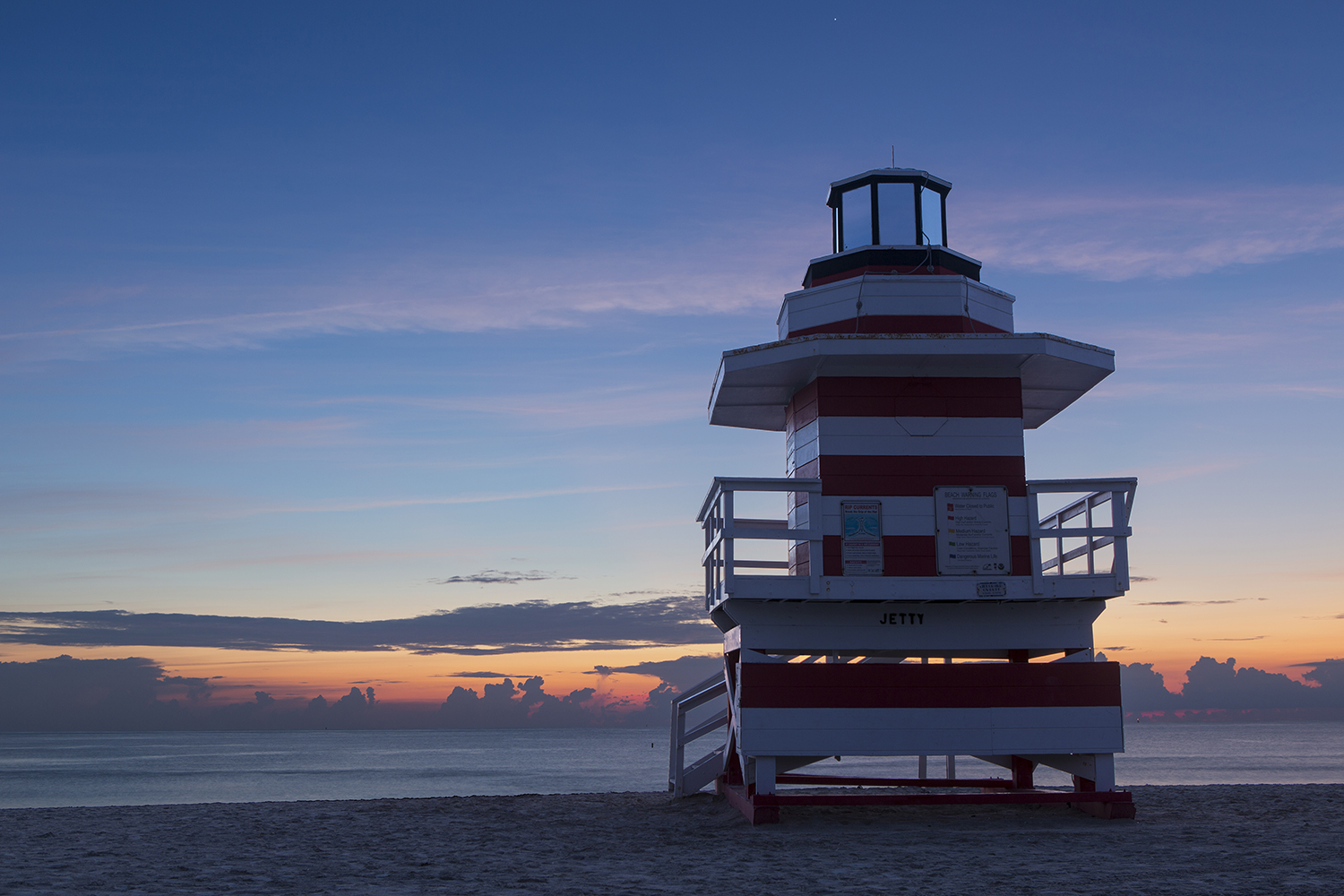 Lifeguard Sunrise