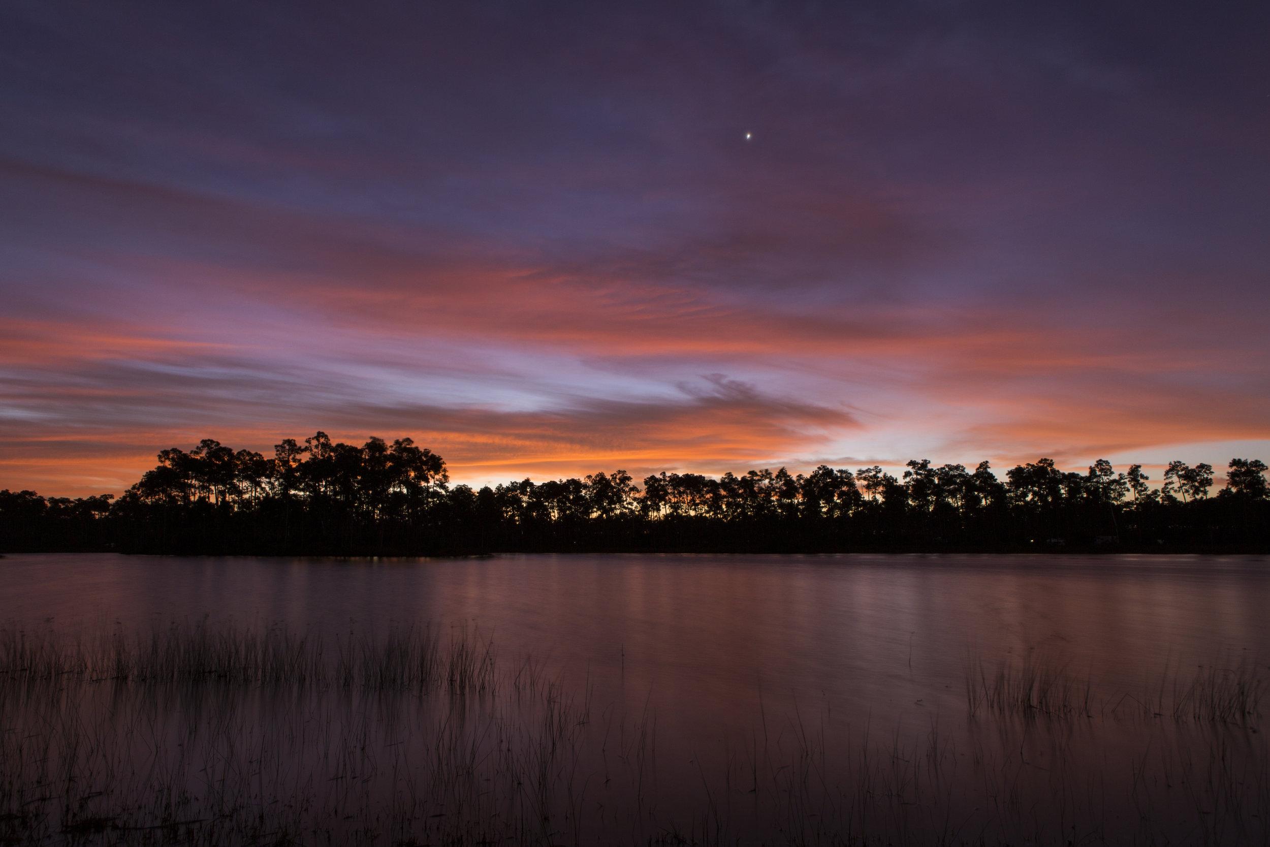 Sunrise over Everglades National Park